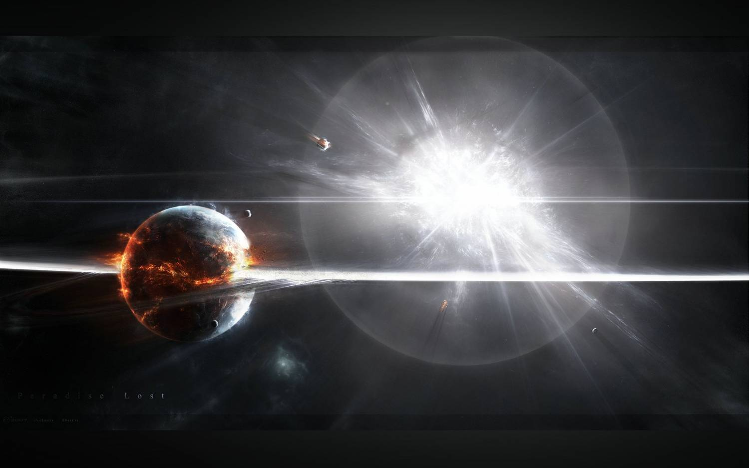Supernova Explosion Wallpaper  WallpaperSafari