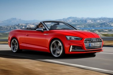 Состоялась презентация нового кабриолета Audi S5 (ФОТО)