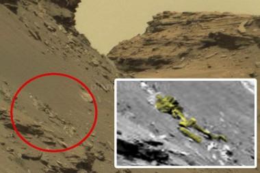 На Марсе исследователи обнаружили скелет 3-метрового человека (ВИДЕО)