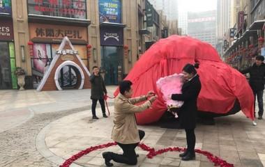 Китаец подарил своей девушке кусок метеорита