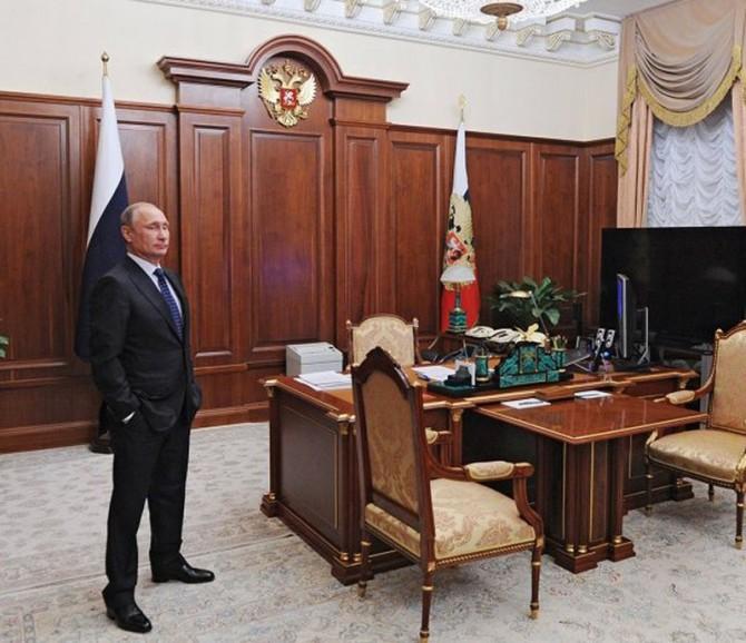 В каких рабочих кабинетах трудятся мировые лидеры (ФОТО)