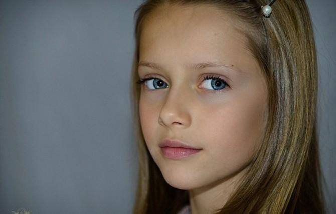 Ангельская красота: 8 самых красивых детей на Земле (ФОТО)