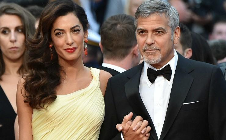 Джордж и Амаль Клуни отказались от поездок до рождения близнецов (ФОТО)