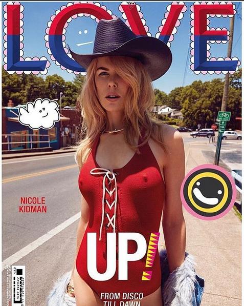 Николь Кидман снялась для журнала, сменив консервативный стиль на яркую откровенность (ФОТО)