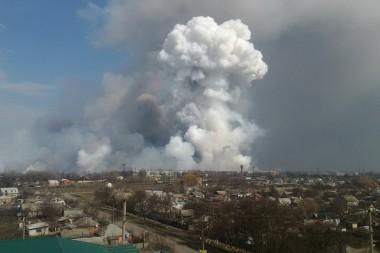 На складе боеприпасов в Балаклее прогремел взрыв - тяжело ранен ВСУшник (ВИДЕО)