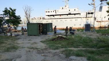 США начали строить центр ВМС в Украине: в России истерика