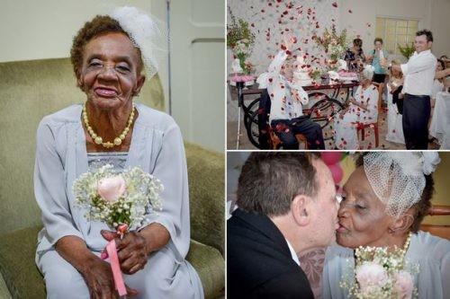 В Бразилии 106-летняя старушка пошла под венец (ФОТО)
