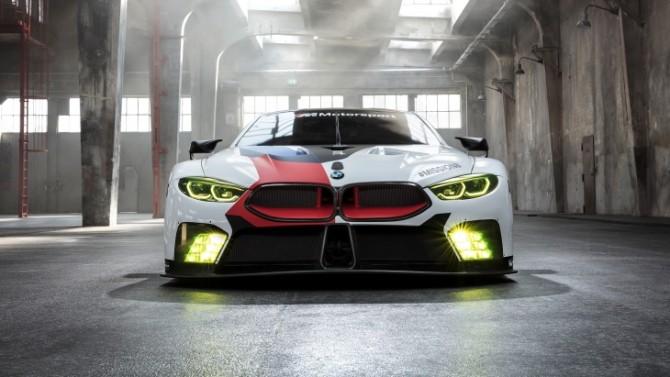 BMW представит новое гоночное купе M8 GTE (ФОТО)