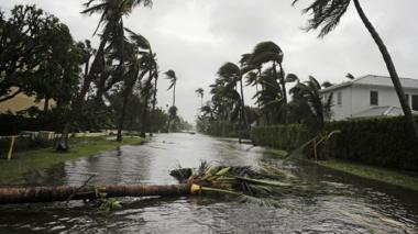 Шторм «Ирма» ослабел до категории тропической депрессии