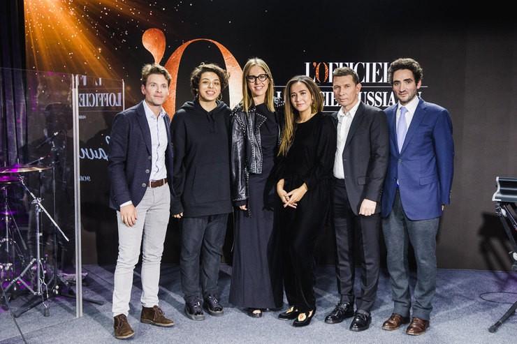 Ксения Собчак на вечеринке по случаю запуска сайта L'Officiel (ФОТО)