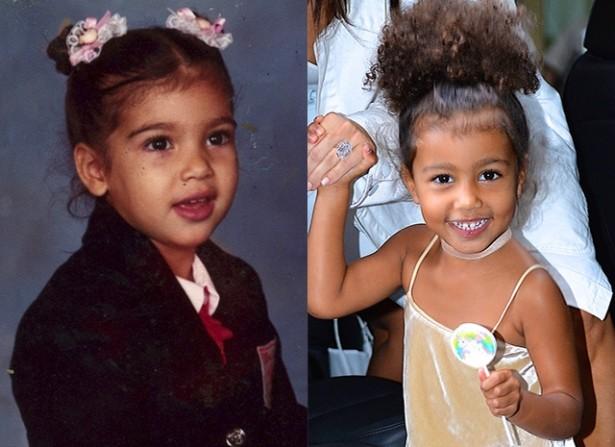 Ким Кардашьян доказала, что дочь растет ее копией (ФОТО)