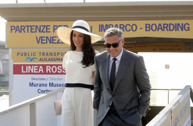 Джордж и Амаль Клуни снова сыграют свадьбу (ФОТО)