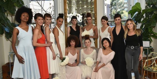 Сара Джессика Паркер выпустила коллекцию свадебных платьев (ФОТО)