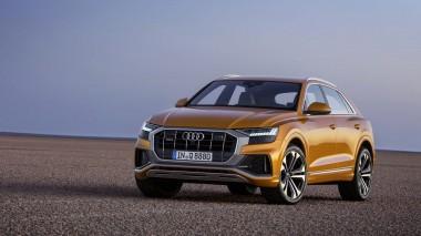Audi Q8 во всей красе (ВИДЕО)