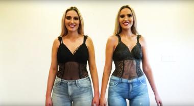 Прохожие в Голливуде не смогли отличить одетую женщину от голой (ВИДЕО)