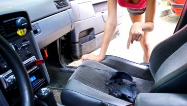 Находка ребенка в машине отца чуть не стала причиной скандала