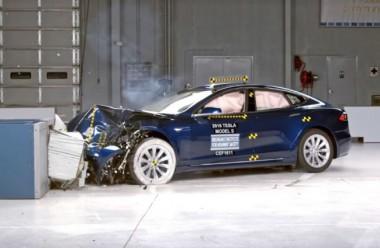 Tesla провалила европейский тест по экстренному торможению