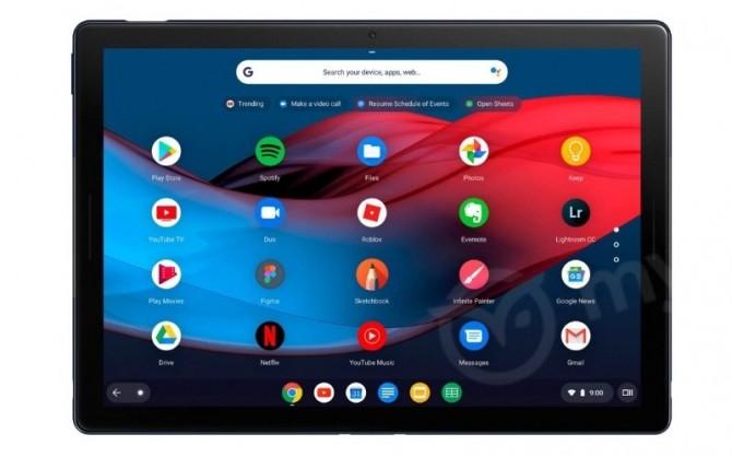 В сети появились фото планшета Google Pixel Slate