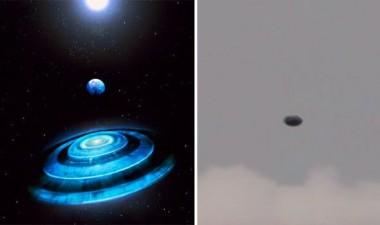 Дискообразный НЛО появился над Шотландией (ФОТО)