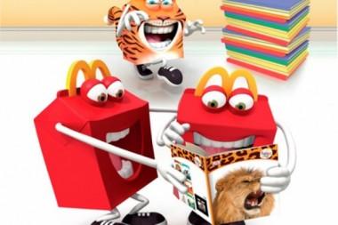 «Макдоналдс» в Новой Зеландии заменил книгами игрушки в Хэппи Мил