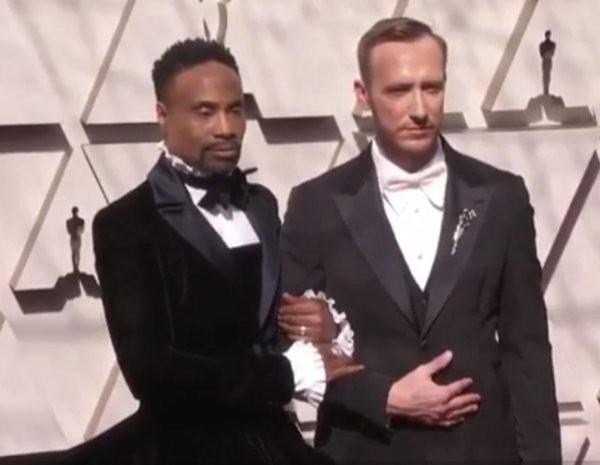 Американский актёр появился на красной дорожке церемонии «Оскар» в женском платье (ФОТО)