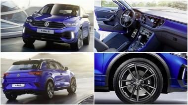 Volkswagen рассекретил «заряженного малыша» - кроссовер T-Roc R (ФОТО)