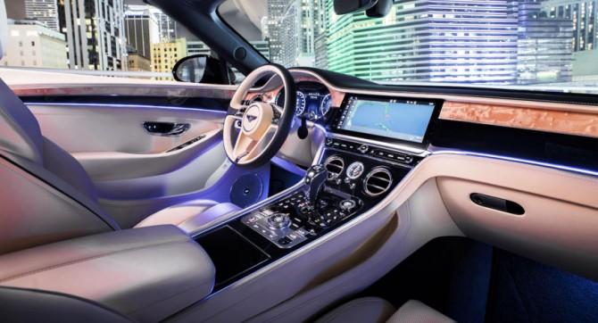 Bentley представил новое купе Continental GT с 550-сильным турбомотором (ФОТО)