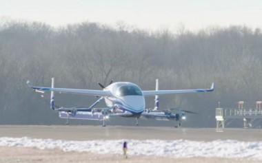 Беспилотное такси Boeing NeXt совершило свой первый тестовый полет