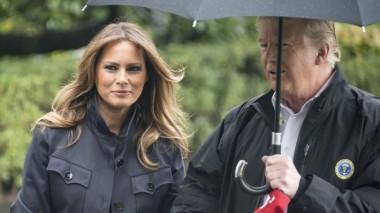 Увидевший премьера Чехии Трамп забыл про жену