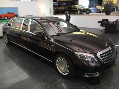 Автомобильная роскошь или Mercedes-Maybach S600 Pullman Guard 2019 (ВИДЕО)