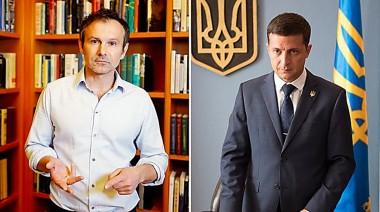 Владимир Зеленский заявил, что готов был уступить Вакарчуку на выборах