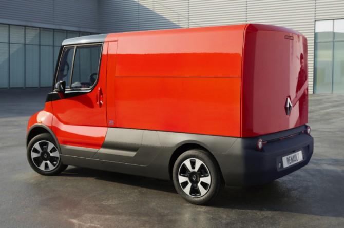 Компания Renault презентовала очень квадратный фургон EZ-FLEX (ФОТО)