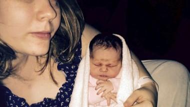 Британка узнала о беременности за 45 минут до родов