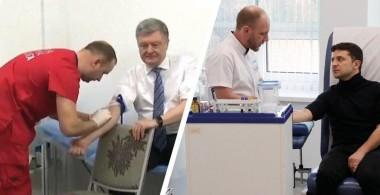 Порошенко и Зеленский сдают анализы перед дебатами