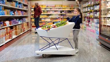 Инженеры Ford создали безопасную тележку для супермаркета с радаром и «тормозами» (ФОТО)