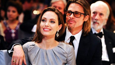 Анджелина Джоли помирилась с Брэдом Питтом