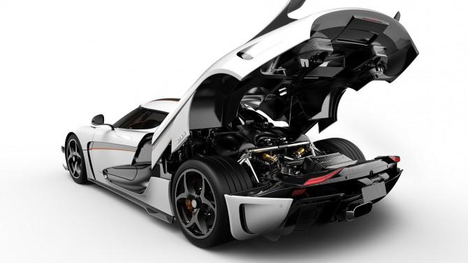 Этот гиперкар Koenigsegg Regera с пакетом Ghost просто великолепен (ВИДЕО)