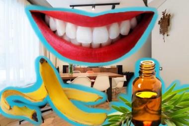 Стоматологи: банановая кожура и чайное дерево помогут отбелить зубы