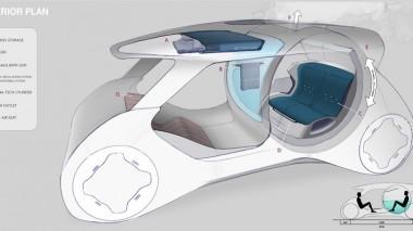 Honda показала концепт беспилотника Onsen с ванной (ФОТО)