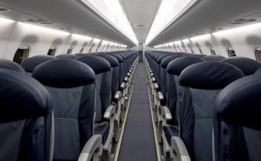 В летевшем из Нью-Йорка в Лондон самолете вспыхнуло кресло