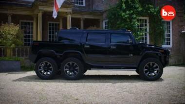 В сети показали шестиколёсный монстра на базе Hummer (ВИДЕО)