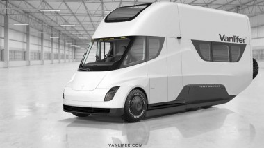 На базе электрогрузовика Tesla Semi RV построили автодом (ФОТО)