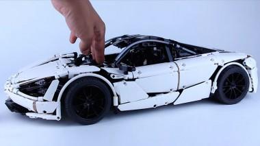 Представлен игрушечный McLaren 720S из Lego (ВИДЕО)
