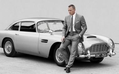 Джеймс Бонд снова ездит на Aston Martin DB5 (ВИДЕО)