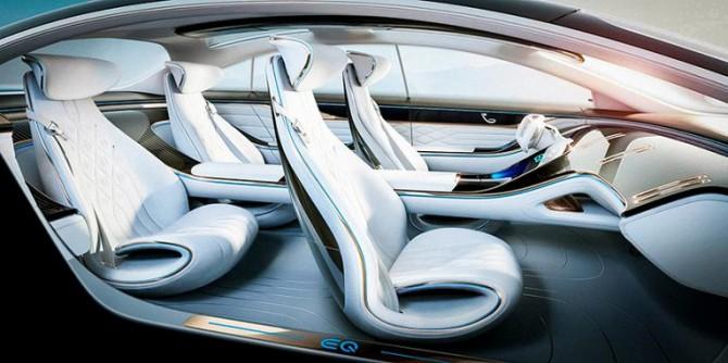 Mercedes представил интерьер автомобиля будущего (ФОТО)
