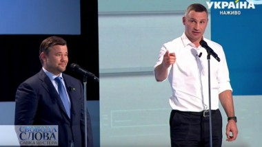 Богдан и Кличко схлестнулись в прямом эфире (ВИДЕО)