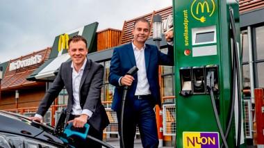 McDonald's хочет заряжать электромобили своих посетителей