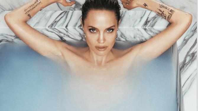 Анджелина Джоли снялась для обложки французского Madame Figaro (ФОТО)