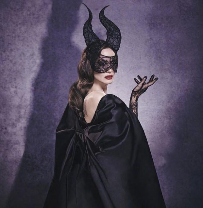 Анджелина Джоли в откровенном платье на тонких лямках снялась для глянца (ФОТО)