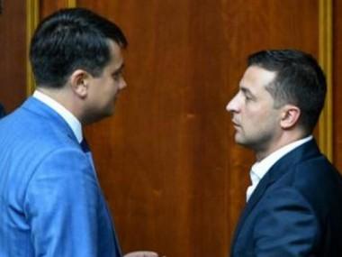 В партии Зеленского наметился раскол